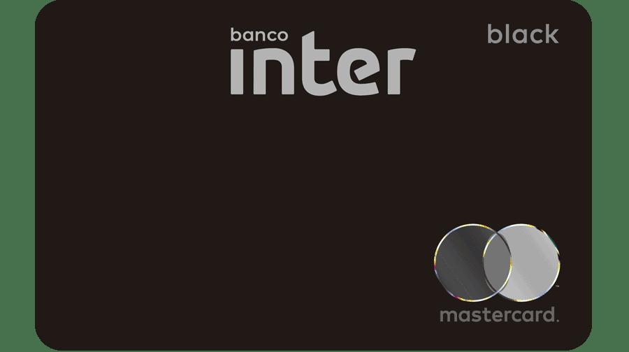 imagem do cartão inter black, ilustrando o conteúdo sobre como aumentar o limite do cartão