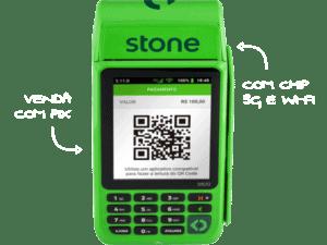 Máquina de cartão Stone