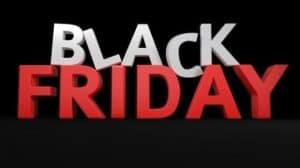 """Imagem com o texto """"Black Friday"""" - pagar suas compras na Black Friday"""