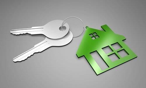 chave de uma casa