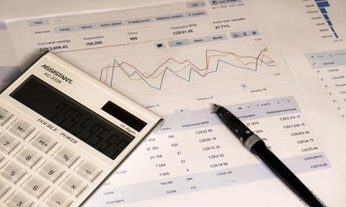 plano financeiro em construção