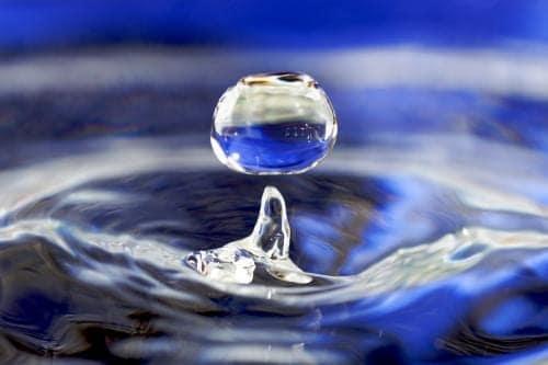 Foto de pingo d'água