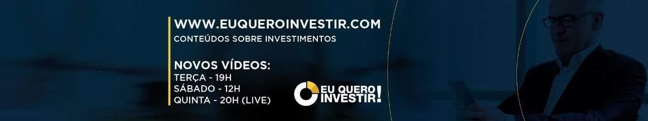 Capa do Canal Eu Quero Investir no Youtube