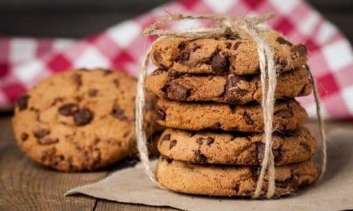 vários cookies empilhados