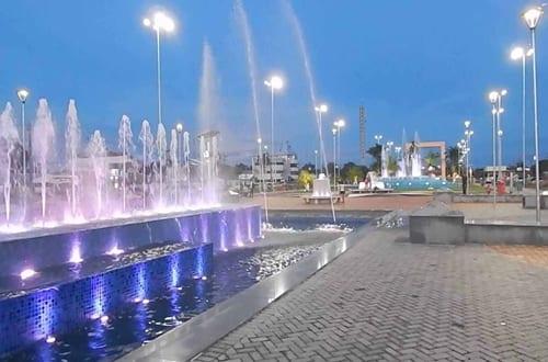 Praça das Águas em Boa Vista.