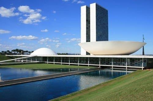 Congresso Nacional em Brasília.
