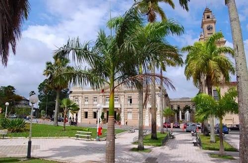 Praça dos Três Poderes, no centro de João Pessoa