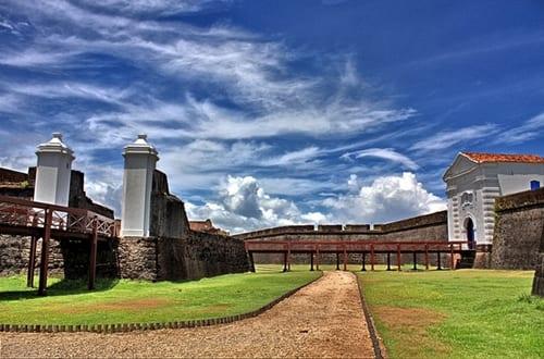 Fortaleza de São José no Macapá.