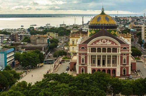 Teatro Amazonas em Manaus.