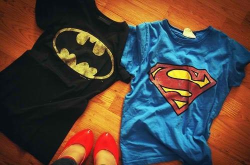 blusa do batman e do superman