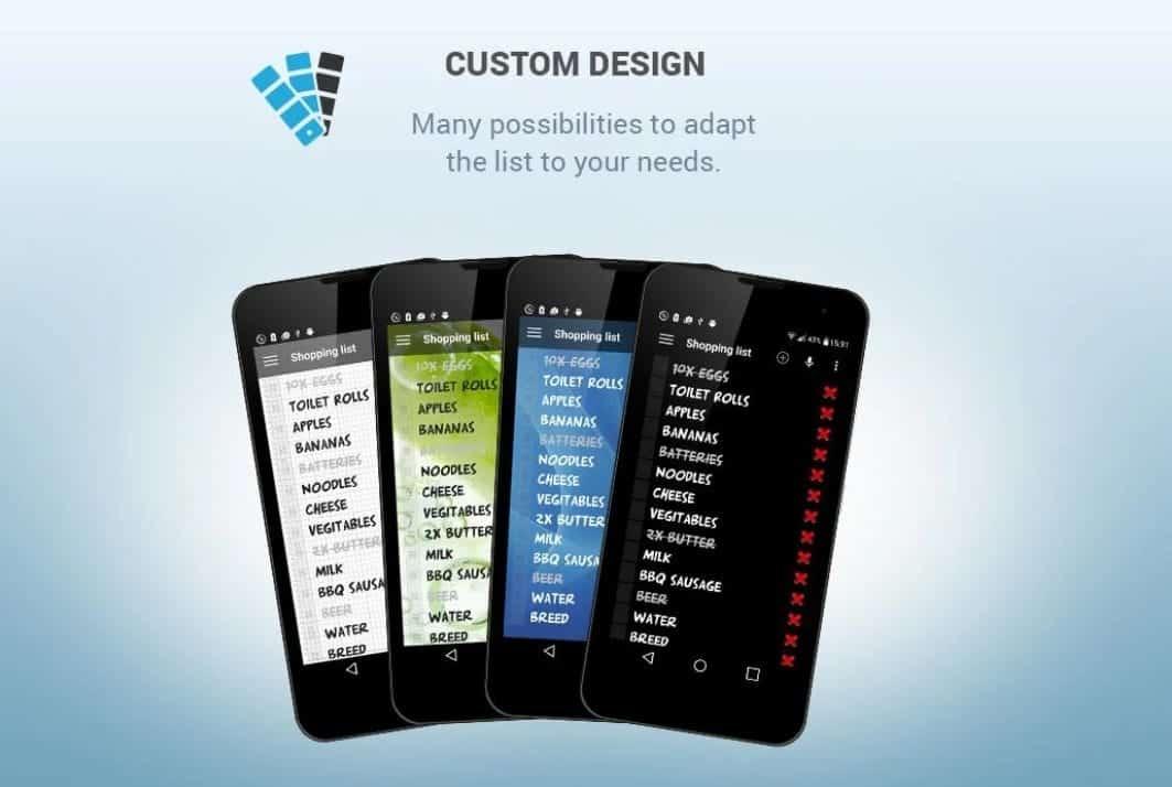 Print do app Lista de Compras