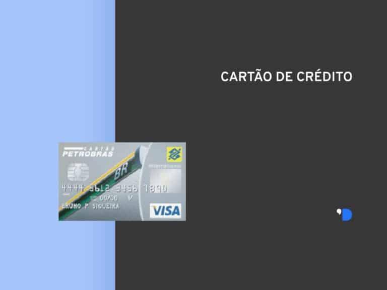 Imagem do cartão Petrobras com o escrito