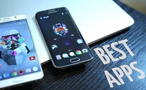 Foto de 2 smartphones simbolizando o tema aplicativos legais