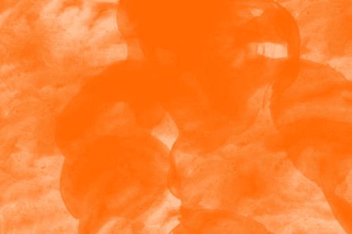 Fundo laranja simbolizando o Banco Inter