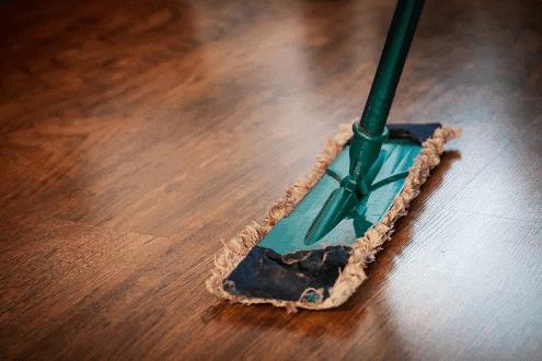 Foto de rodo simbolizando o tema aplicativo de limpeza