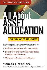 Foto da capa do livro All About Asset Allocation – Richard Ferri