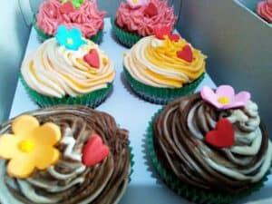 Foto de cupcakes simbolizando o tema O que fazer para ganhar dinheiro rápido