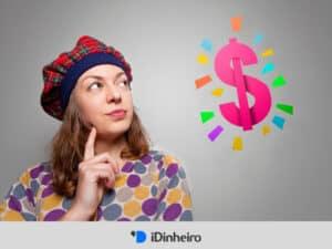 mulher pensando onde investir 500 reais