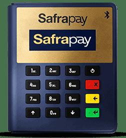 Imagem da máquina de cartão safrapay bluetooth