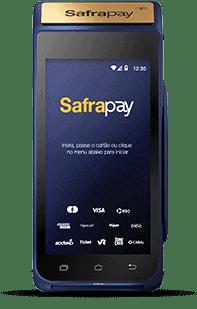 Imagem da máquina de cartão safrapay smart