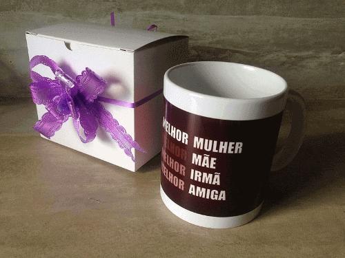 Exemplo de caneca personalizada para o Dia das Mães