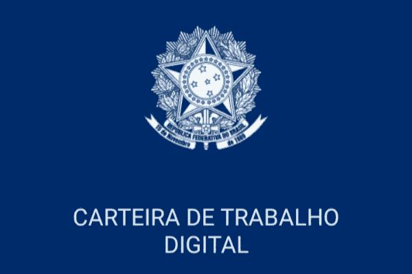 Imagem de entrada do aplicativo carteira de trabalho digital