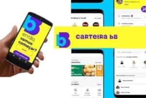Ilustração sobre o app carteira bB