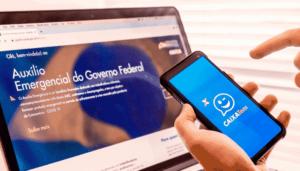 Foto do site e app Caixa tem para simbolizar o tema Cartão virtual Caixa Tem
