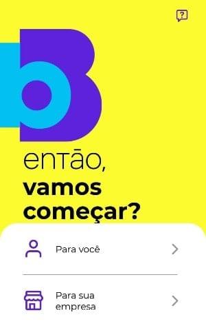 tela app carteira bB