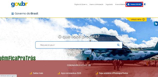 Print 1 do site gov.br