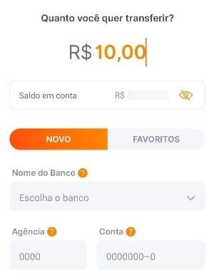 tela app banco inter