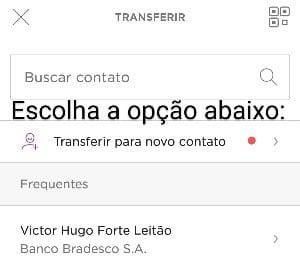 tela app nubank