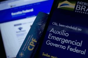 Foto do app do Auxílio emergencial simbolizando o tema calendário de saque do auxílio emergencial
