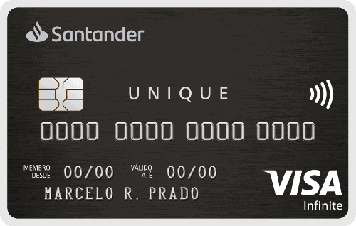cartão Santander sem anuidade Unique