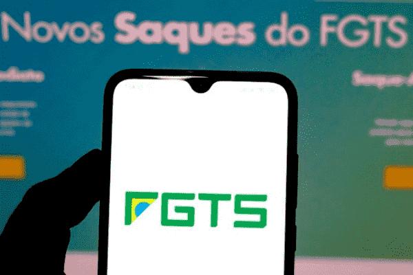 Foto do app FGTS simbolizando o tema Liberação do FGTS emergencial começa hoje