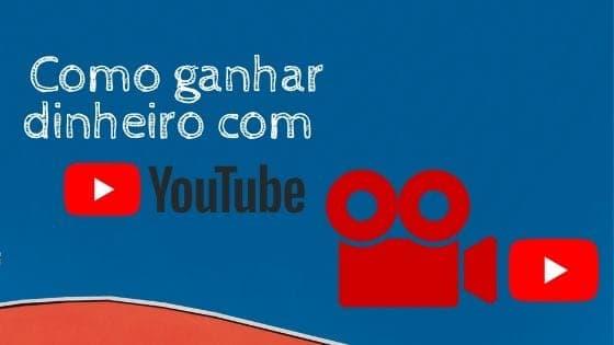 imagem que simboliza o título ganhar dinheiro com youtube