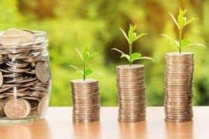 foto de pilhas de moedas simbolizando tema o rendimento Nubank