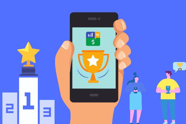 Ilustração sobre os melhores tipos de aplicativo para economizar dinheiro