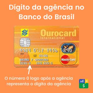 Dígito verificador da agência Banco do Brasil