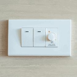 regulador de intensidade de luz