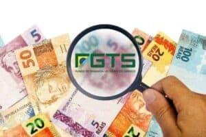 Ilustração sobre o FGTS simbolizando o tema 3º lote de pagamentos do saque-aniversário
