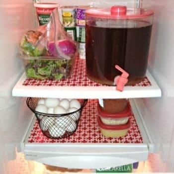 forro de prateleira de geladeira