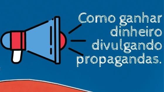imagem simboliza como ganhar dinheiro divulgando propaganda