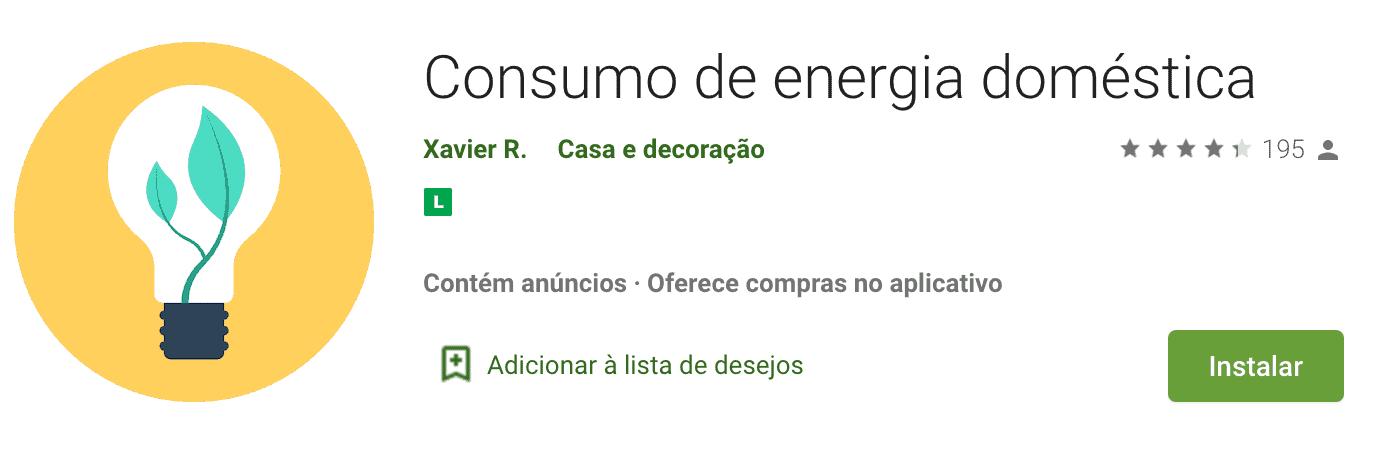 Melhor aplicativo para economizar energia