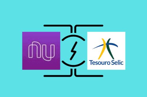 Ilustração epresentando Nuconta vs Tesouro Selic