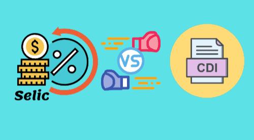 Ilustração representando CDI vs Selic