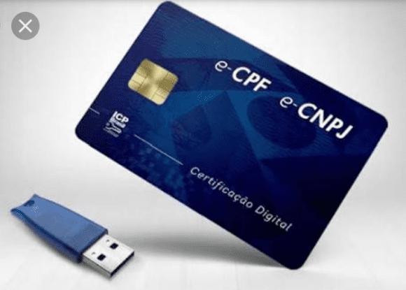 ecpf e-cpf cartao token