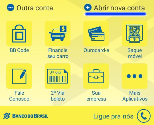 Nova Conta Digital do Banco do Brasil – Conta Fácil BB