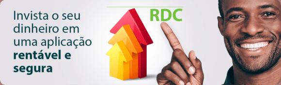Conheça o RDC, uma aplicação de renda fixa.