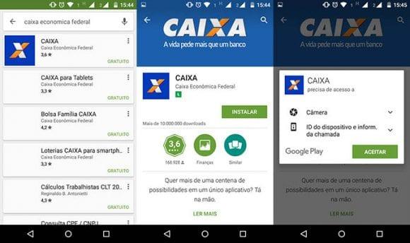 Como instalar o aplicativo CAIXA Celular